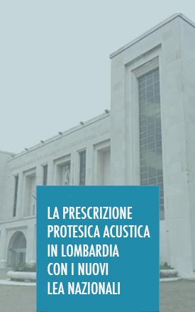 La prescrizione protesica acustica in regione Lombardia