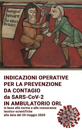 Indicazioni operative prevenzione contagio