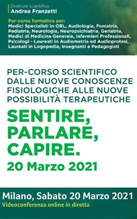 Sentire parlare capire_Milano 20 marzo 2021